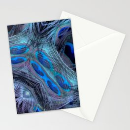 Feather Abstract Stationery Cards