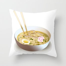 Saimin Throw Pillow