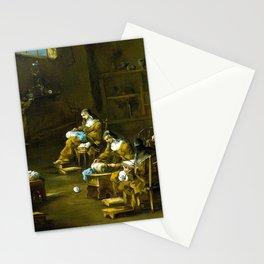 Alessandro Magnasco Nuns at Work Stationery Cards