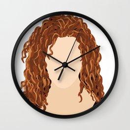 Bernadette Peters Wall Clock