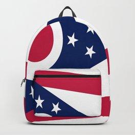 flag of Ohio,Midwest,Ohioan,Buckeye,Colombus,Cleveland,Cincinnati,Usa,america,united states,us Backpack