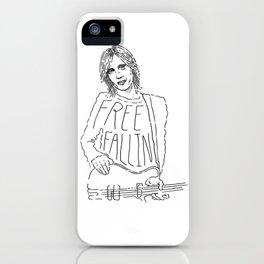 Tom Petty Free Fallin' iPhone Case