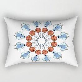 Mononoke Mandala Rectangular Pillow