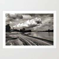 Limia River Art Print