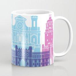 Lublin skyline pop Coffee Mug