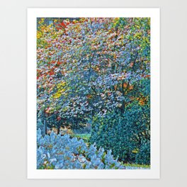 The Forest Comes Alive Art Print