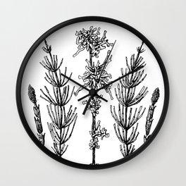 Undergrowth Wall Clock
