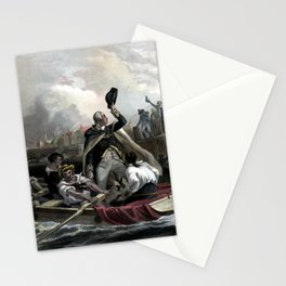 Washington's Adieu To His Generals Stationery Cards