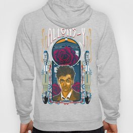 Doctor Who, David Tennant Allons-Y 10th Doctor Hoody