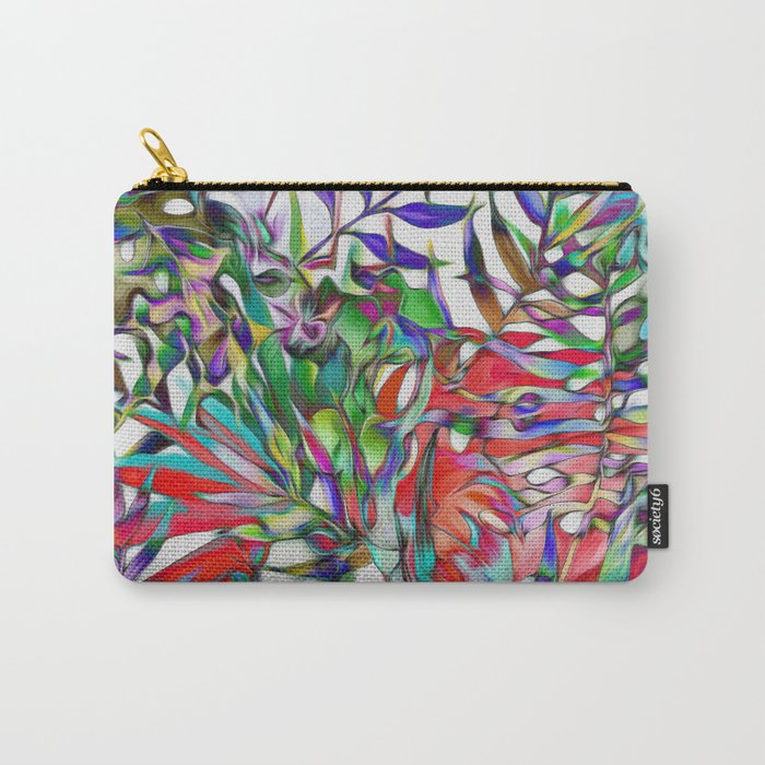 Jungle-tropics Carry-All Pouch