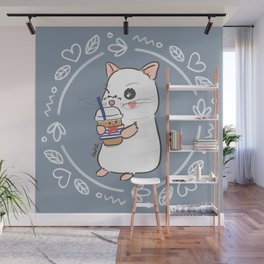 Iced Latte Wall Mural
