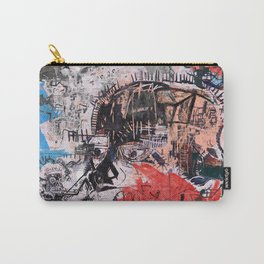 Basquiat Style Carry-All Pouch