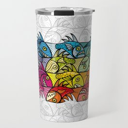 EscherFishes Travel Mug