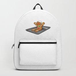 Christmas Gingerbread man Backpack