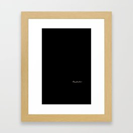 King Of The Sea Framed Art Print