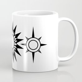 The Moon The Sun and The Stars with Zodiac Signs Coffee Mug