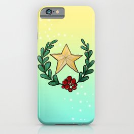 Watercolor - You Are My Lucky Star iPhone Case