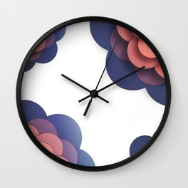 Floral // Border Wall Clock