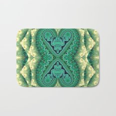 Tribal Twin Hearts Bath Mat