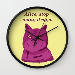 PLEASE, STOP! Wall Clock