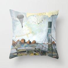 Exploration: Drought Throw Pillow