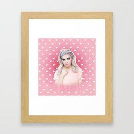 bubblegum bitch Framed Art Print