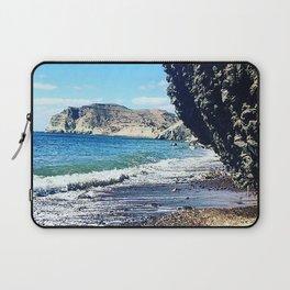 Santorini Cliff Laptop Sleeve
