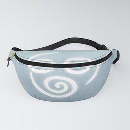 Avatar Air Bending Element Symbol Fanny Pack