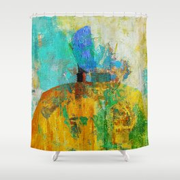Malevich 1 Shower Curtain