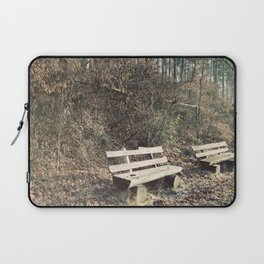 Strategically shaped logs Laptop Sleeve