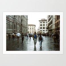 DUOMO VI- WALK BY Art Print