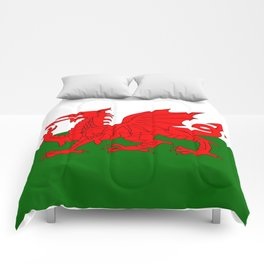 Welsh Dragon Flag Comforters