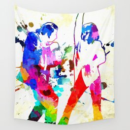 Pulp Fiction Dance Wall Tapestry