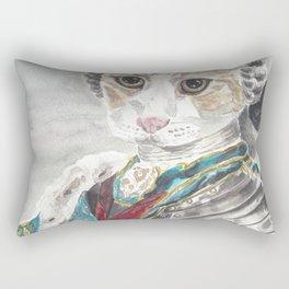 King Louis XVI Cat Rectangular Pillow
