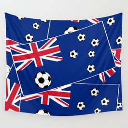 Australian Flag Football Wall Tapestry