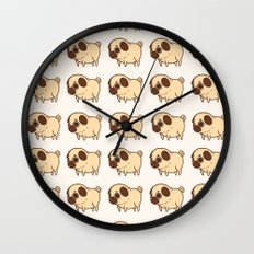 Dog pattern 2232 Wall Clock