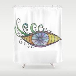 Te miro Shower Curtain
