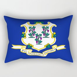 State Flag of Connecticut Rectangular Pillow