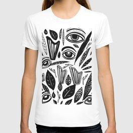 Eye Harp Leaves T-shirt