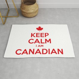 KEEP CALM I AM CANADIAN Rug