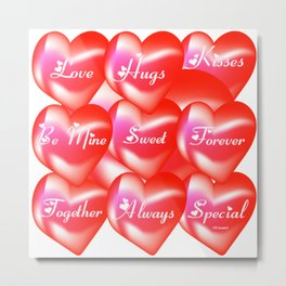 """""""All For Love"""" Metal Print"""