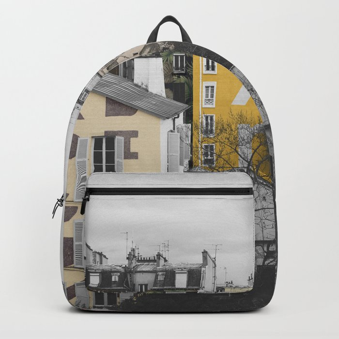 Paris I (Tags) Backpack