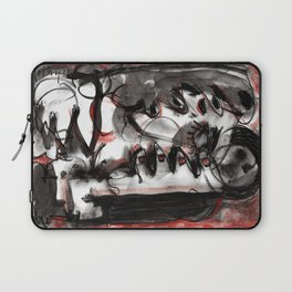 Shame - b&w Laptop Sleeve