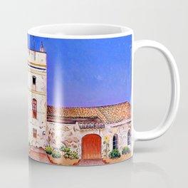 Joan Miro House with Palm Tree Coffee Mug