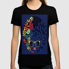 Afro Diva : Sophisticated Lady Blue T-shirt