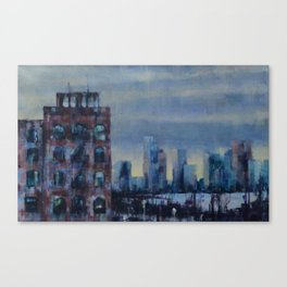 View from the Highline Canvas Print