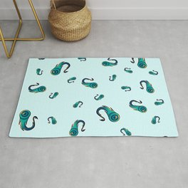 Jubilation of the crowd Rug