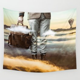 Reach Out Wall Tapestry