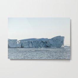 arctic giant - greenland Metal Print