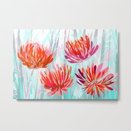 Chrysanthemum in the garden Metal Print